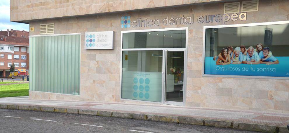 Cl nica dental en gij n cl nica dental europea - Fachadas clinicas dentales ...